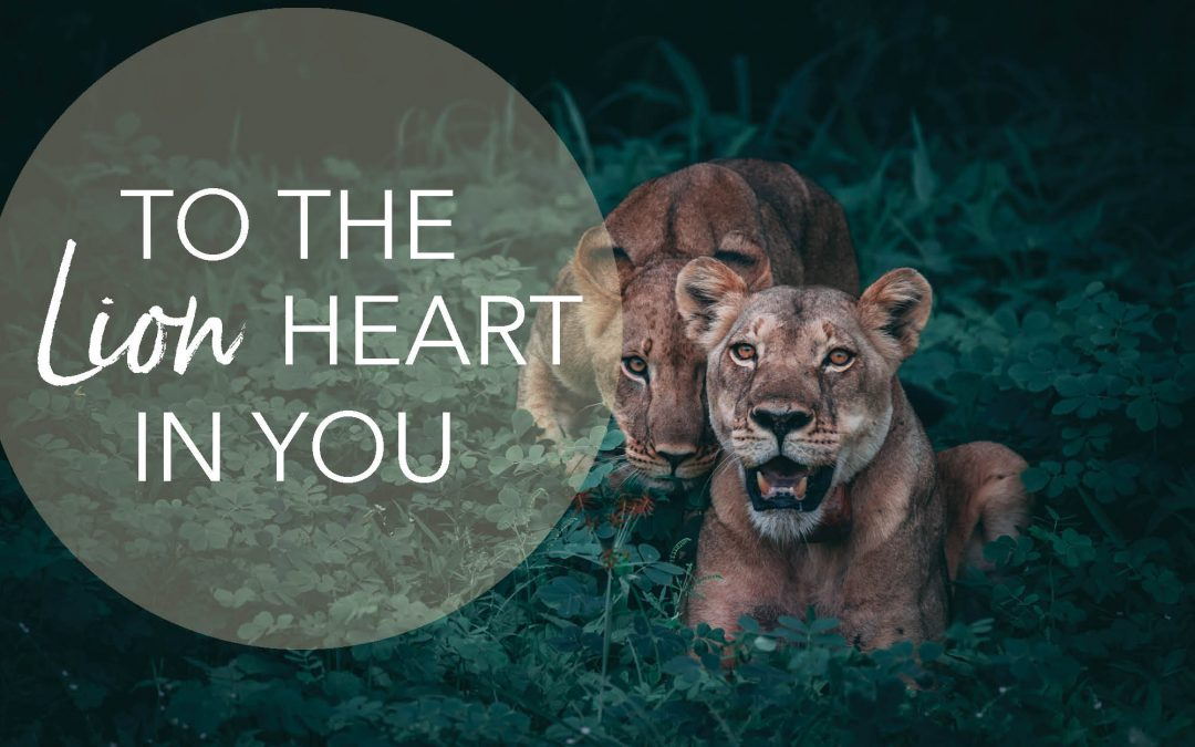 To the lion heart in you